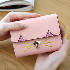 Rinka Doll - Cat Faux Leather Wallet