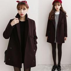 HAZEL - Double-Breasted Coat