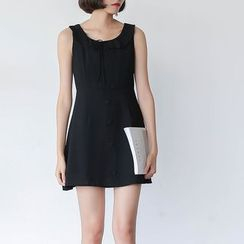 Sens Collection - Plain A-line Tank Dress