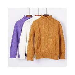 City of Dawn - Cable-Knit Sweater