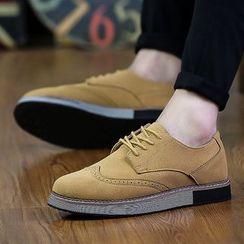 Chariot - 翼纹系带休闲鞋