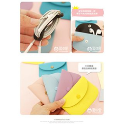 Cutie Bazaar - Pouch with Earphone Winder