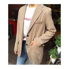 FROMBEGINNING - Notched-Lapel Single-Breasted Jacket