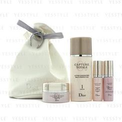 Christian Dior - Capture Totale Set: Concentrated Lotion 50ml + Creme 15ml + Serum 7ml + Dream Skin 7ml + Bag