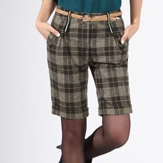 O.SA - Plaid Bermuda Shorts