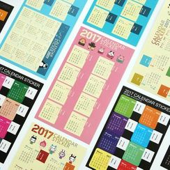 Nina's House - Set of 2: Calendar Memo Stickers