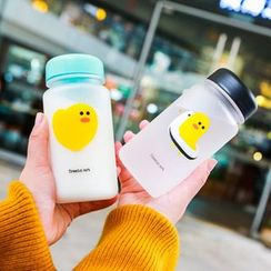 Wild Peach - Duck Print Water Bottle