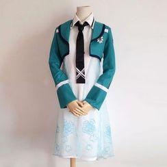 Kaneki - The Irregular at Magic High School  Miyuki Shiba Cosplay Costume