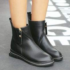 安若 - 純色踝靴