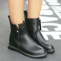 Anran - Plain Ankle Boots