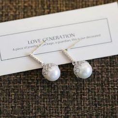 Love Generation - Pearl Drop Earring