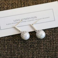 Love Generation - 珍珠垂下耳環