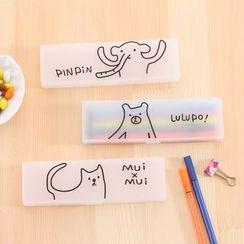 Fun House - Cartoon Print Pencil Case