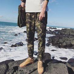 Mr. Wu - Camouflage Cargo Pants
