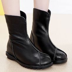 Monde - Genuine Leather Short Boots
