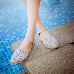 Pastel Pairs - Laser Cut Sandals
