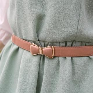 CatWorld - Bow-Accent Elasticized Belt
