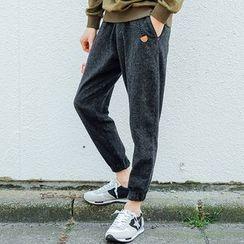 Streetstar - 彈性袖口低胯褲