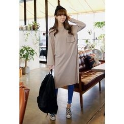 REDOPIN - Cotton T-Shirt Dress