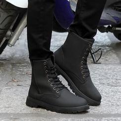 MR.GONG - 純色短靴