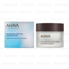 AHAVA - Age Control Even Tone Sleeping Cream