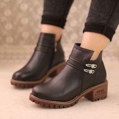 IYATO - 水鑽及踝靴
