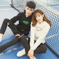 INUS - Couple Matching Print Hoodie