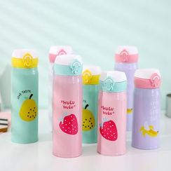 Fun House - Fruit Print Water Bottle