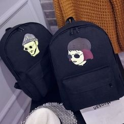 Aoba - Printed Backpack