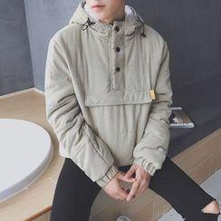 JUN.LEE - Hooded Padded Jacket