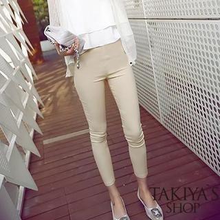 TAKIYAS - Cropped Skinny Pants