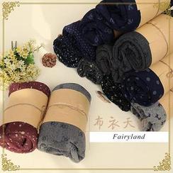 Fairyland - Printed Fleece-Lined Leggings