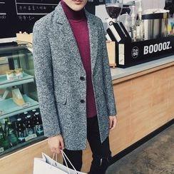 NAPO - Marled Wool Blend Coat