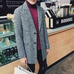 NAPO - 混色羊毛混纺大衣