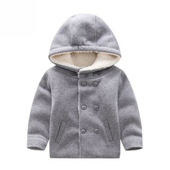 Endymion - Kids Double Breasted Hooded Jacket