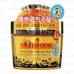 Kose - Oleo D'or Botanical Oil Treatment Mask