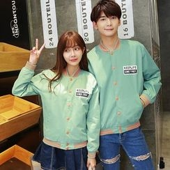 CASSY - Couple Matching Baseball Jacket