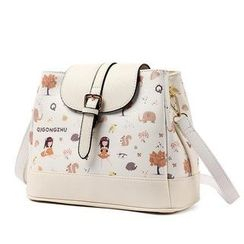 Princess Carousel - Print Crossbody Bag