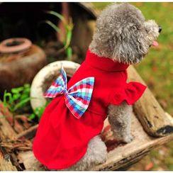 Pet Sweetie - Bow Detail Dog Dress