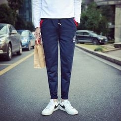 Alvicio - Panel Letter Sweatpants