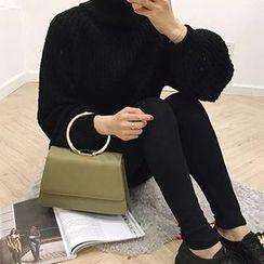 Fancy Show - Fleece-Lined Plain Leggings