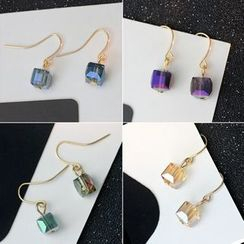 HEDGY - Crystal Cube Earrings