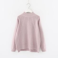 Meimei - Mock Neck Sweater