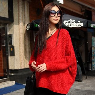 59 Seconds - V-Neck Oversize Sweater