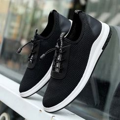 Bay Go Mall - Lettering Mesh Sneakers