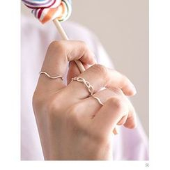 PINKROCKET - Infinity-Pattern Ring