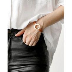 UPTOWNHOLIC - Faux-Leather Bracelet