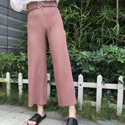 MATO - Plain Wide Leg Pants