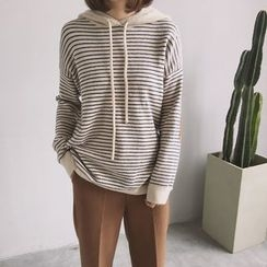 ByPeggie - Striped Hoodie