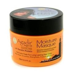 Agadir Argan Oil - Keratin Protein Moisture Masque (Anti Color Fade For Long Lasting Hair Color, Ideal For Use on All Hair Types)
